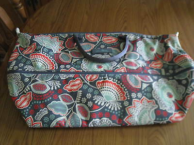 VERA BRADLEY LIGHTEN UP EXPANDABLE TRAVEL TOTE BAG in NOMADIC FLORAL NWT