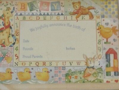 Birth Announcements for Boy or Girl