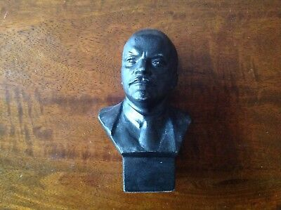 Bust of Lenin Vladimir, small statue - made of steel