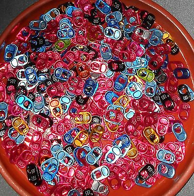 500+ Color Pull Tabs Soda Can Pop Tops Monster Rock Star