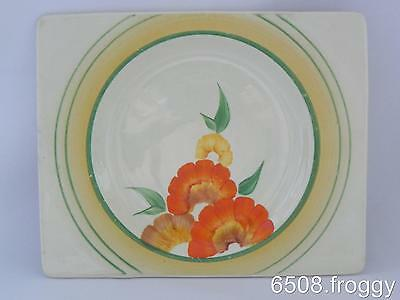 Early *Biarritz* CLARICE CLIFF - Handpainted - signed Clarice Cliff  SIDE PLATE