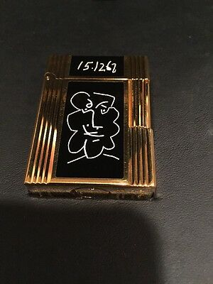 dupont lighter Picasso Limited Edition