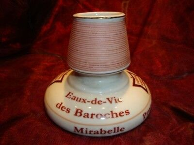 Pyrogene Advertising Quina Bar Matches Match Striker Holder French Style Porcela