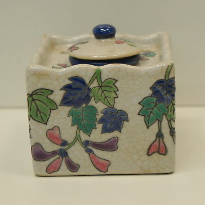 Inkwell Office Renaissance Style Porcelain Enamels