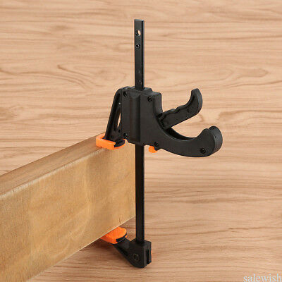 F Type Clamps Wood Working Clamp Grip Ratchet Release Squeeze DIY Hand Tool NEW