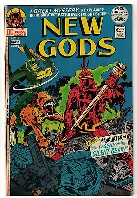 DC COMICS NEW GODS Jack Kirby Justice league america 1st Steppenwolf  app 6.5