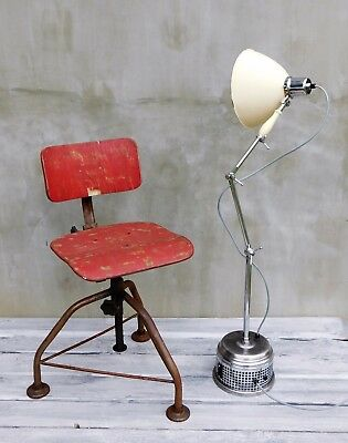 30er 40er Arzt Lampe, Loftlampe, Bauhaus Design Studio Lampe, medical lamp, R10