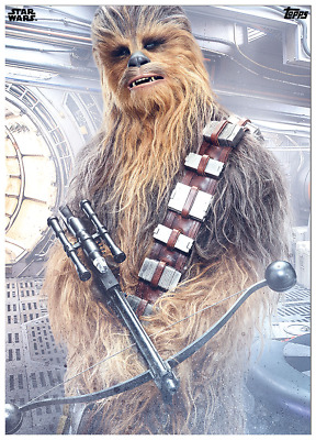 Topps Star Wars Card Trader The Last Jedi Premier Chewbacca