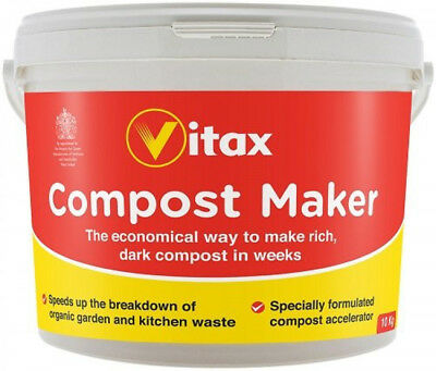 Compost Accelerator Maker Fast Acting Effective w Organic Nutrients 10kg