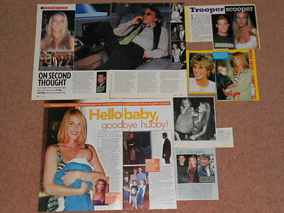 7- CATHERINE OXENBERG Magazine Clippings