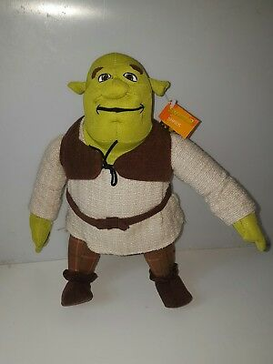 "Official Genuine Shrek 2 Soft Toy 12"" Disney NWT"
