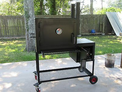 Reverse Flow Smoker-Insulated-BBQ Pit