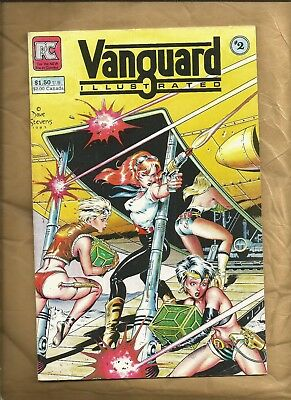 Vanguard Illustrated 2 1984 Classic Dave Stevens Good Girl cover Pacific Comics