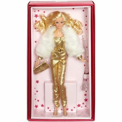 2015 Barbie Superstar Forever Collection Doll - Golden Dream with shipper