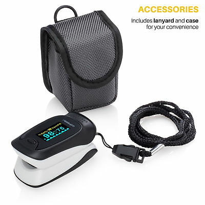 Instant Read Digital Pulse Oximeter Accurate Oxygen Reading FDA Approved