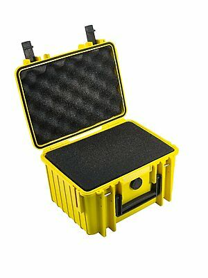 B&W type 2000 Outdoor Case for Camera with Pre Cut Foam - Yellow