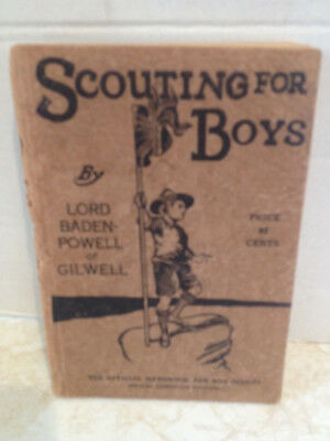 Scouting for Boys  Paperback Book - Lord Baden-Powell of Gilwell   Boy Scouts