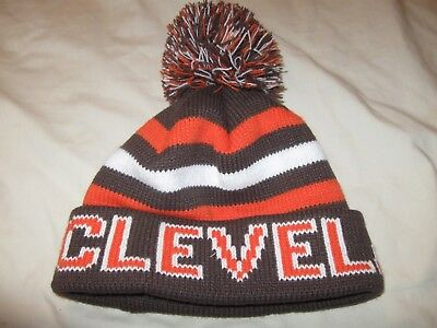 c4acc649 Cleveland Browns Stocking Cap Beanie Hat Adult One Size Mens NFL Dawg Pound