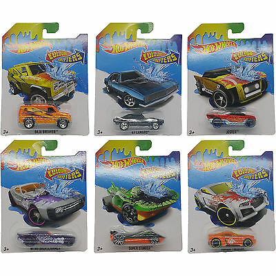 Hot Wheels Colour Shifters Assorted Diecast Hotwheels color changing car on card