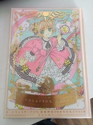 Cardcaptor Sakura 20th Anniversary Illustrations Collection Art Book Manga CLAMP