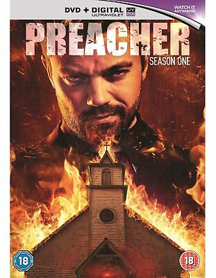 Preacher Season 1 [DVD] [2016] New Sealed UK Region 2 - Dominic Cooper