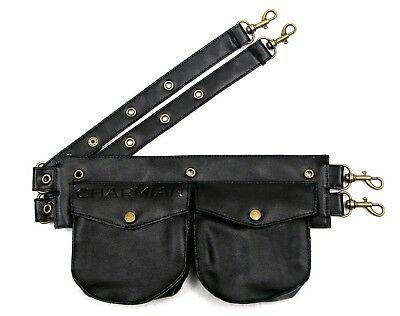 Charmian Women's Steampunk Gothic Leather Pouch Belt Corset Costume Accessories