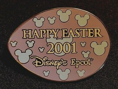 Retired 2001 Walt Disney World Happy Easter Epcot Purple Egg Hunt Pin Le 1000