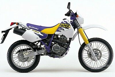 SUZUKI DR350  Service , Owner's and Parts Manual CD