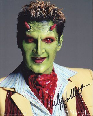 BUFFY ANGEL ANDY HALLETT LORNE # 4 hand signed