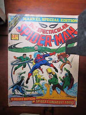 MARVEL SPECIAL EDITION TREASURY #1 - The SPECTACULAR SPIDER-MAN