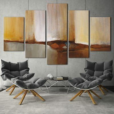 Modern abstract art 5PCS HD Canvas Print Home Decor Picture Wall Art Painting
