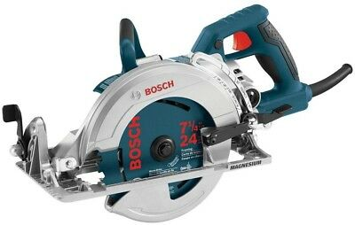 Bosch 15 Amp Corded 7-1/4 in. Worm Drive Circular Saw with Carbide Blade