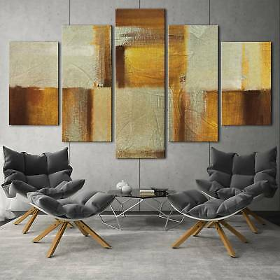 Abstract art series 5PCS HD Canvas Print Home Decor Picture Wall Art Painting