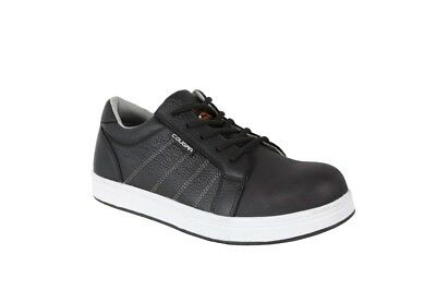 work shoes safety toe COUGAR leather sneaker low cut jogger  work boots shoes