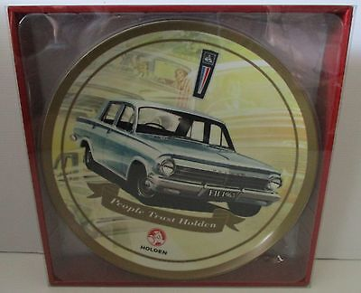 Holden brand new in box car  63 EH ceramic plate for home bar brew or collector