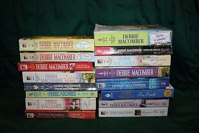 Lot of 16 Used Debbie Macomber Romance Books