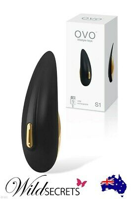 "NEW OVO S1 Premium USB Rechargeable 3.5"" Lay On Massager, Clitoral Vibrator"