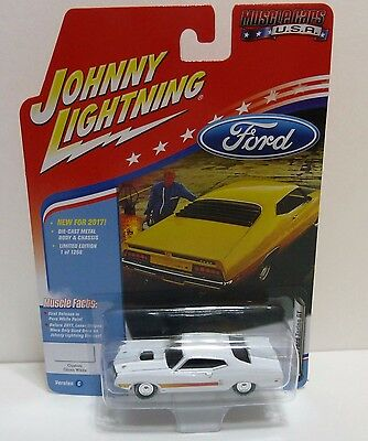 JOHNNY LIGHTNING Muscle Cars USA 1970 Ford Torino GT (2017 Series Release1)