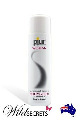 NEW Pjur Woman Silicone-Based Lubricant (100ml), Sex Lubricant/Lube