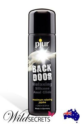 NEW Pjur Back Door Relaxing Silicone-Based Anal Glide (250ml), Wild Secrets