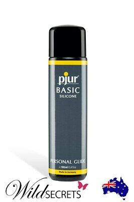 NEW Pjur Basic Silicone-Based Lubricant (100ml), Sex Lubricant/Lube