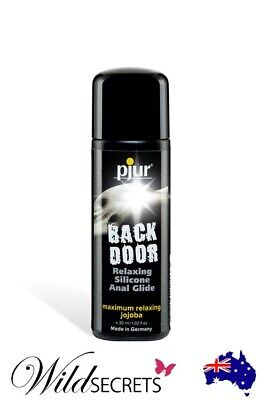 NEW Pjur Back Door Relaxing Silicone-Based Anal Glide (30ml), Sex Lubricant/Lube