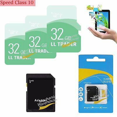 32GB Micro SD Class 10 SDHC Ultra TF Flash Memory SD Card SDHC UHS-1 w/ADAPTER