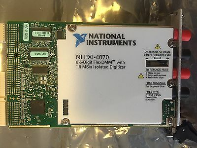 NI PXI-4070 Digital Multimeter Card 6-1/2 Digit DMM National Instruments Tested!