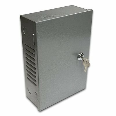 "SB1073 10"" Electrical Enclosure Cabinet Alarm Locking Box Distribution Box"