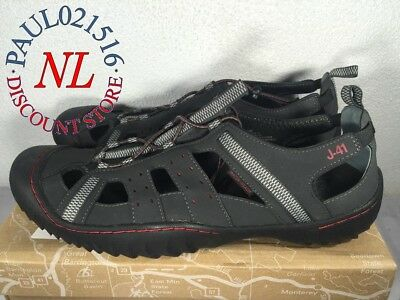 *New* Men's Jeep J-41 Groove II-All Terrain/Hiking/Water Shoes ~ Black/Red ~ 13