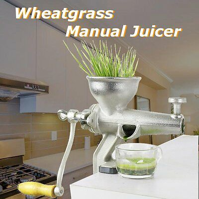 1.5L Stainless Steel Fruit Wheatgrass Wheat Grass Manual Hand Operated Juicer