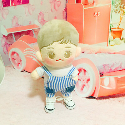 Kpop EXO XOXO BAEK HYUN 20~25cm Doll Clothes Cute Rompers Shoes Accessory Be