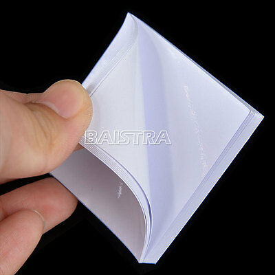 SALE 10X Dental Disposable Mixing Poly Pad Paper 2x2 inch 50 sheets/book