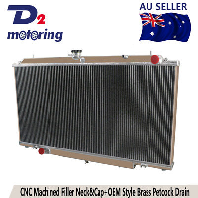 3ROW Aluminum Radiator For Nissan GU PATROL Y61 TD 2.8 3.0 4.2L Turbo Diesel MT
